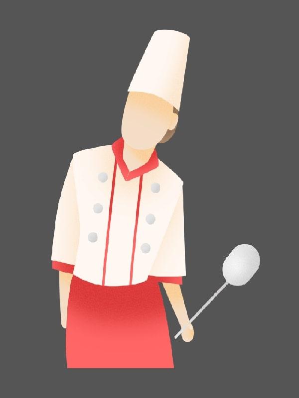 آشپز و سر آشپز